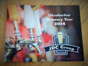Oktoberfest postcard (front)